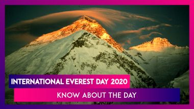 International Everest Day 2020: Know About the Day That Celebrates the First Everest Summit