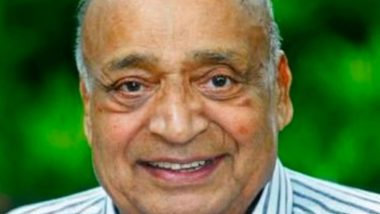 MP Veerendra Kumar, Rajya Sabha Member And MD of Mathrubhumi Group, Dies Due to Cardiac Arrest in Kozhikode