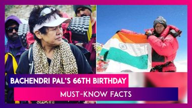 Bachendri Pal: Celebrating India's Woman Mountaineer As She Marks Her 66th Birthday