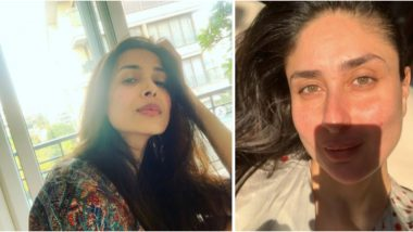 Malaika Arora Posts About Swapping to 'No Makeup and Messy Hair' Style Amid Lockdown and Kareena Kapoor Khan Hilariously Suggests Another Addition!