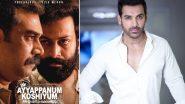 John Abraham to Remake Prithviraj Sukumaran and Biju Menon's Malayalam Film Ayyappanum Koshiyum in Bollywood