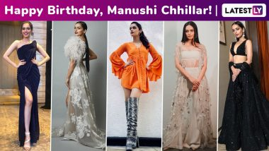 Manushi Chhillar Birthday Special: Growing, Glowing, Unapologetically Girly Millennial Chic, the Former Miss World's Heady Fashion Arsenal Is a Hoot!
