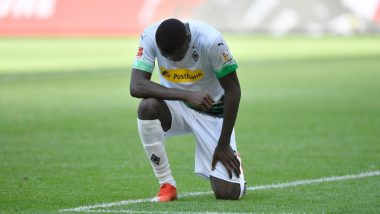 Marcus Thuram Takes a Knee to Express Solidarity Towards George Floyd Amid US Protests as Borussia Monchengladbach Go Third in Bundesliga