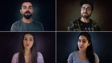 #MatKarForward: PIB Fact Check Along With Sara Ali Khan, Virat Kohli, Ayushmann Khurrana and Kriti Sanon Share TikTok Video Requesting Citizens to NOT Forward Misleading Information