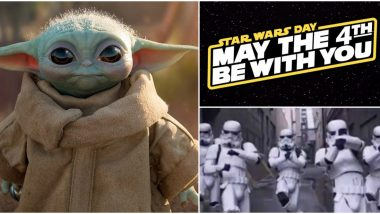 Star Wars Day 2020: Twitterati Wish May the Fourth Be With You With Dancing Gifs ofStormtroopers, Cute Baby Yoda Posts and More