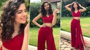 Mithila Palkar Is Channelling That Ravishing Red Vibe in a Lola by Suman Ensemble!