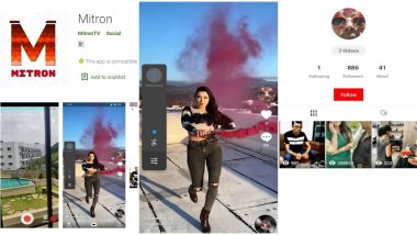Mitron, The Indian Alternative to TikTok? Know Everything About The Short Video Making Social Media App With Over 5 Mn Downloads