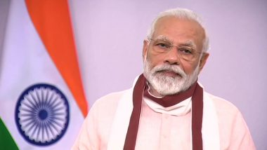 PM Narendra Modi Announces Rs 20 Lakh Crore Economic Package to Revive Indian Economy Amid COVID-19 Crisis; Details to be Shared by Finance Ministry From Tomorrow