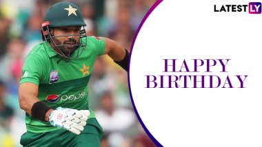 Mohammad Rizwan Birthday Special: Interesting Facts About the Talented Pakistan Wicket-Keeper Batsman