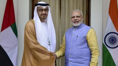 Eid-Ul-Fitr 2020: PM Narendra Modi Wishes Eid Mubarak to UAE Crown Prince Mohammed bin Zayed