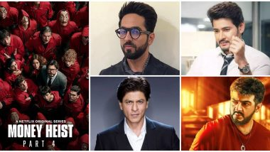 Money Heist: Shah Rukh Khan, Mahesh Babu, Thala Ajith, Ayushmann Khurrana - Director Alex Rodrigo Picks His Choice of Bollywood and South Actors He Would Cast In Netflix Show's Indian Remake