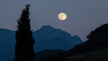 Super Flower Moon 2020 Date and Live Streaming Details: Know When and How to Watch The Last Supermoon on This Year