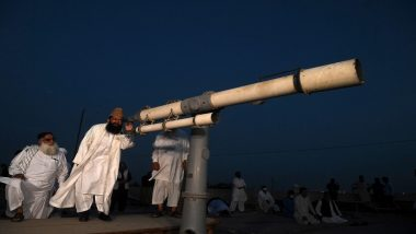 Eid Moon Sighting 2021, Chand Raat Live News Updates: Announcement Regarding Shawwal Crescent To Be Made by Hilal Committees in India, Pakistan, Bangladesh And Oman After Maghrib Prayers.