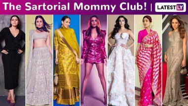 Mother's Day 2020: Aishwarya Rai Bachchan, Kareena Kapoor Khan, Karisma Kapoor, Malaika Arora, Mira Kapoor Belong to the Sartorial Sassy Mommy Club!