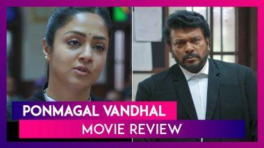 Ponmagal Vandhal Movie Review: Jyothika Is Stunning In This Half-Baked Legal Drama