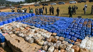 Myanmar Police Seize Nearly 200 Million Meth Tablets, 300 kgs of Heroin in Asia's Biggest-Ever Drug Bust in Decades