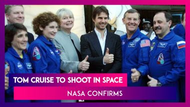 Tom Cruise Teams Up With NASA & Elon Musk To Film First Ever Movie At International Space Station
