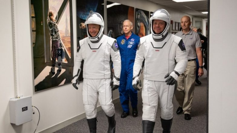 NASA SpaceX Demo-2 Mission Launch on May 30: Crew Dragon Spacecraft Set to Send Astronauts Douglas Hurley And Robert Behnken to Space