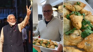 PM Narendra Modi Calls Scott Morrison's 'ScoMosas' Delicious, Promises to 'Enjoy Snack Together Once Decisive Victory Against COVID-19 is Achieved'
