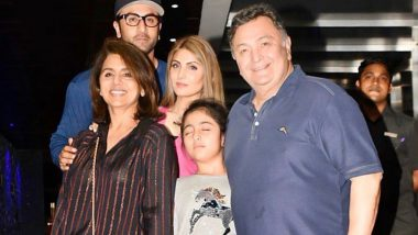 An Incomplete Picture: Neetu Kapoor Shares a Family Moment With Late Husband Rishi Kapoor and We Are Lost for Words (View Post)