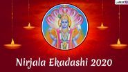Nirajala Ekadashi 2020 Messages & HD Images: WhatsApp Stickers, Facebook Wishes, Messages, Instagram Stories And SMS to Send on Auspicious Occasion