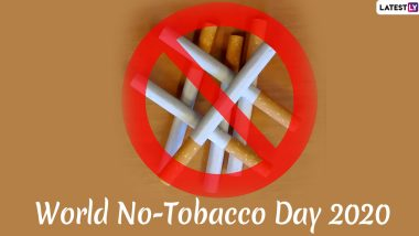 World No Tobacco Day 2020 Date And Theme: Know The Significance of the Day That Encourages People to Quit Smoking
