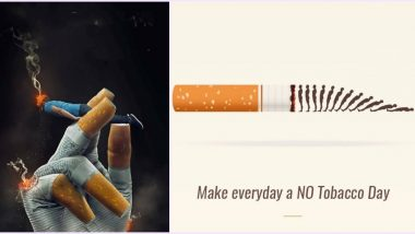 World No Tobacco Day 2020 Messages and HD Images: Netizens Share Creative No Smoking Photos With Quotes Urging Others to Quit The Habit