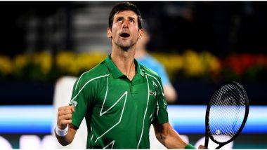 Novak Djokovic Confirms Participation in US Open 2020 and Cincinnati Masters (See Post)