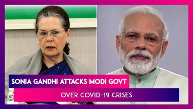 Sonia Gandhi Calls PM Modi's Rs 20 Lakh Crore Package 'Cruel Joke On Country' At Opposition Meet