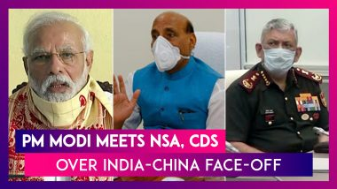 PM Narendra Modi Meets NSA, Chief Of Defence Staff Over India-China Face-Off In Ladakh