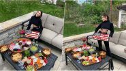 Olivia Culpo Flaunts Underboob and Washboard Abs As She Celebrates Memorial Day 2020 in Her Backyard (View Photos)