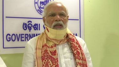 Cyclone Amphan: PM Narendra Modi Announces Rs 500 Crore Interim Relief to Odisha, Financial Assistance to Kin of Deceased and Injured