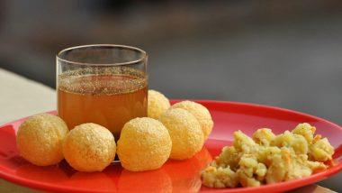Delhi: Pani Puri, Paapdi Chaat Stalls Re-Open in Chawri Bazar Area Amid Lockdown