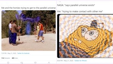 NASA Has Not Found Parallel Universe Yet, But Netizens Have Already Imagined Themselves in One, Check Funny Memes and Jokes