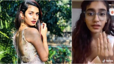 Priya Prakash Varrier aka the 'Wink Girl' Makes TikTok Debut and She's Already Creating a Storm With Her New Videos!