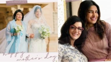 Mother's Day 2020: Priyanka Chopra Says 'Not Being Able to Celebrate With My Mother Or Mother-in-law Makes My Heart Heavy' in an Emotional Video Post