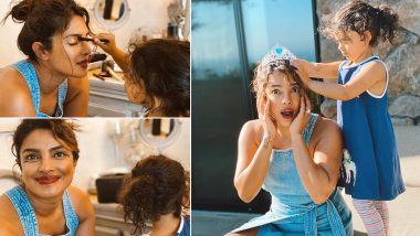 Priyanka Chopra and Her Niece Krishna Sky Sarkisian's Are Having Their Very Own 'Met Gala' Photo-Shoot and The Theme Is All Things Adorable