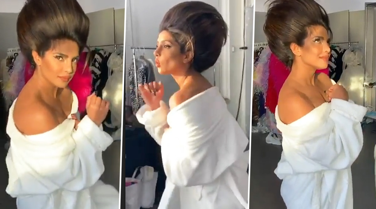 Priyanka Chopra Gives Major Weekend Vibes With a Goofy Throwback Dance Video!