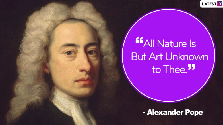 Alexander Pope Quotes and Sayings to Share on The Great Poet's Birth Anniversary