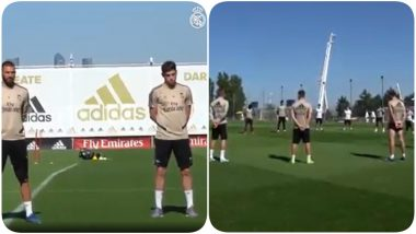 Real Madrid Observes Minute Long Silence for People Who Lost Their Live Due To Coronavirus (Watch Video)