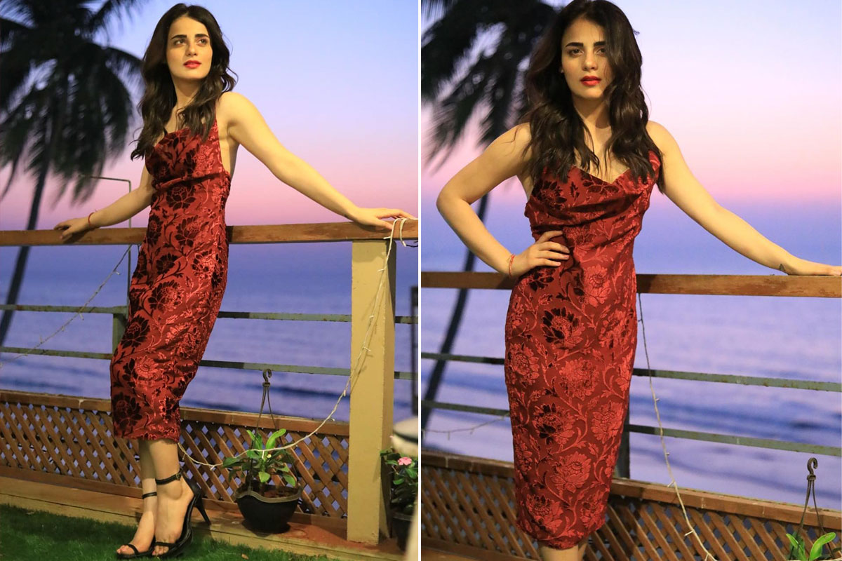 Radhika Madan in How When Wear dress