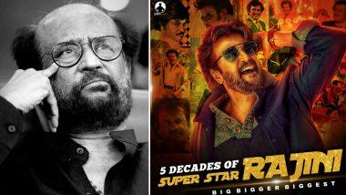 Rajinikanth's Fans Trend '#5DecadesOfSuperstarRajini' on Twitter