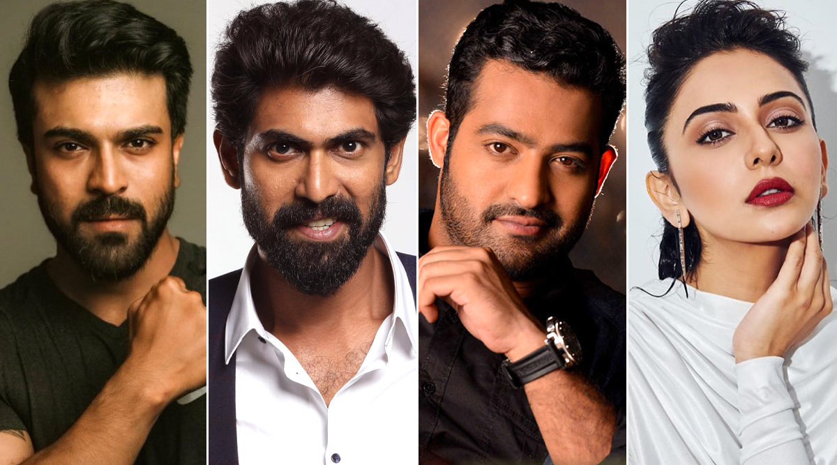 Happy Birthday Jr NTR! Ram Charan, Rana Daggubati, Rakul Preet Singh and Others Shower Love and Wishes On Tollywood's Young Tiger (View Tweets)