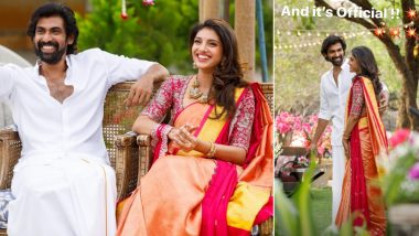 Rana Daggubati And Fiancée Miheeka Bajaj Look Their Happiest As Families Officially Finalise Pair's Engagement and Wedding Dates (Deets Inside)