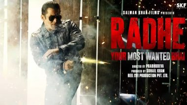 Radhe: Your Most Wanted Bhai - Salman Khan's Manager Refutes Rumours of Demanding Rs 250 Crore For the Film's Release on OTT Platform (Deets Inside)