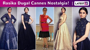 Rasika Dugal Cannes Nostalgia: Ethno Cool and a Worthy Muse for Homegrown Labels, This Is How the Manto Actress Rolled in the French Riviera!