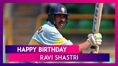 Ravi Shastri Birthday Special: Five Best Batting Performances By Former Indian All-Rounder