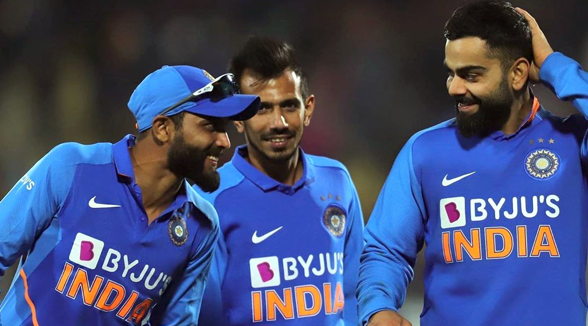 Yuzvendra Chahal Shares Throwback Picture With Virat Kohli and Ravindra Jadeja, Asks Fans to Come Up With Captions