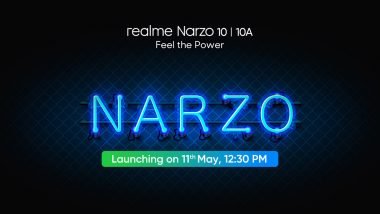 Realme Narzo 10 Series Launching in India on May 11; Check Expected Prices, Features, Variants & Specifications