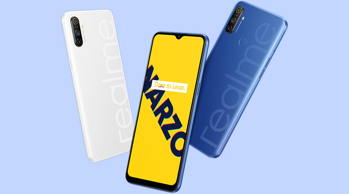 Realme Narzo 10A Goes on Sale in India via Flipkart & Realme.com; Check Prices & Exciting Offers
